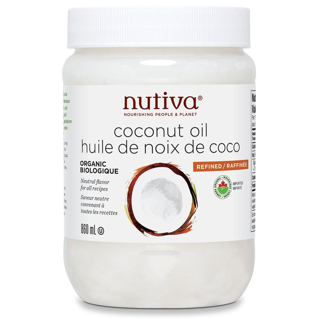 Nutiva Organic Refined Coconut Oil - 860ml