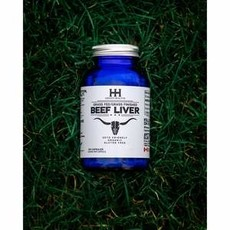 Higher Healths Beef Liver Capsules