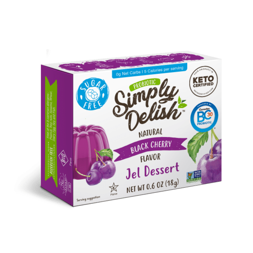 Simply Delish Simply Delish Sugar-Free Jel Dessert, Black Cherry