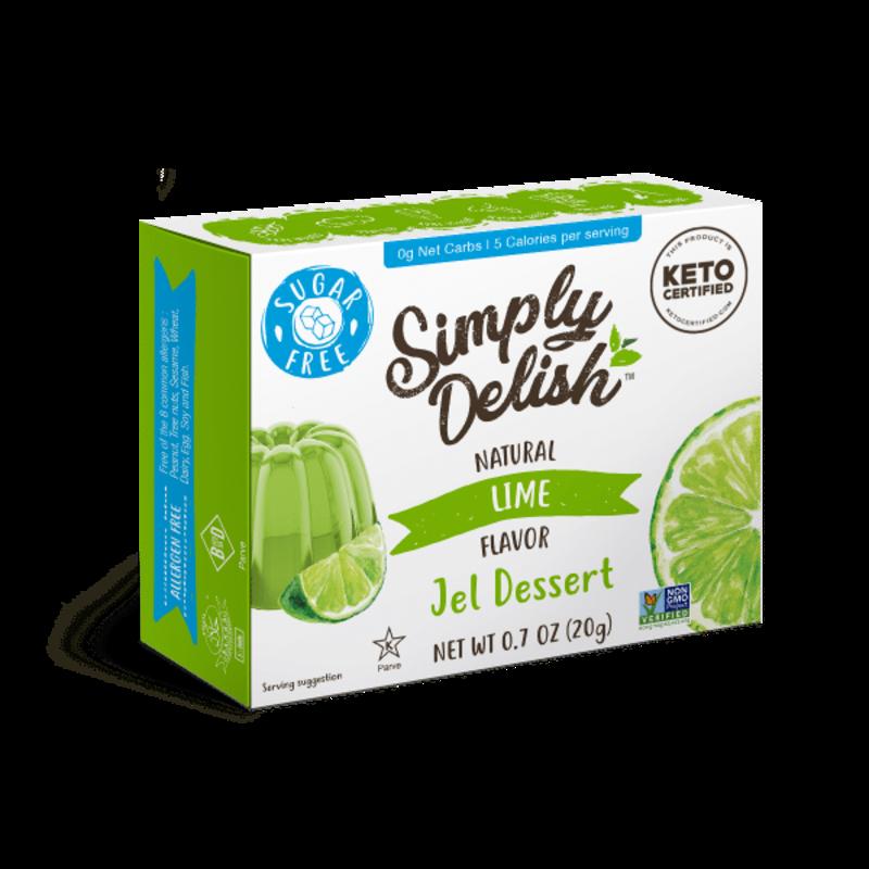Simply Delish Simply Delish Sugar-Free Jel Dessert, Lime