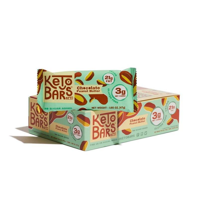 Keto Bars Chocolate Peanut Butter Keto Bars