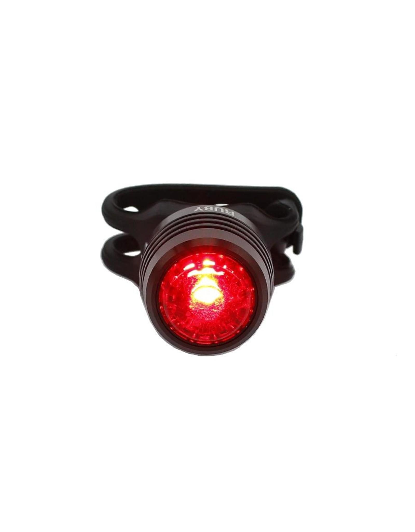 ES LIGHT USB LED REAR RUBY