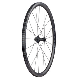 SPECIALIZED ROVAL ALPINIST CLX  FRONT WHEEL SATIN CARBON/GLOSS BLACK 700c