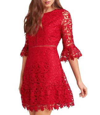 BB Dakota In the Moment Lace Dress