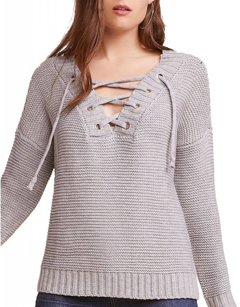 Hey Ms Carter Lace Front Sweater - Abraham s Indianola 2e6a8ca5c