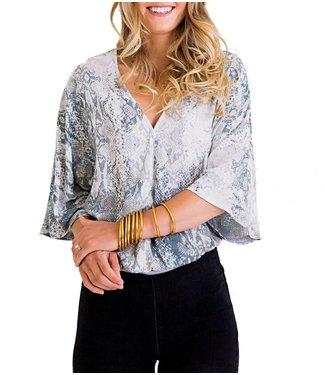 Karlie Snake Wrap Bodysuit