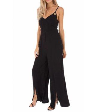 Black Swan Slit Leg Jumpsuit