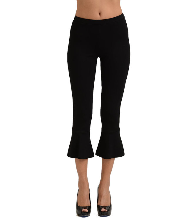 Lynn Ritchie Flared Hem Cropped Pants