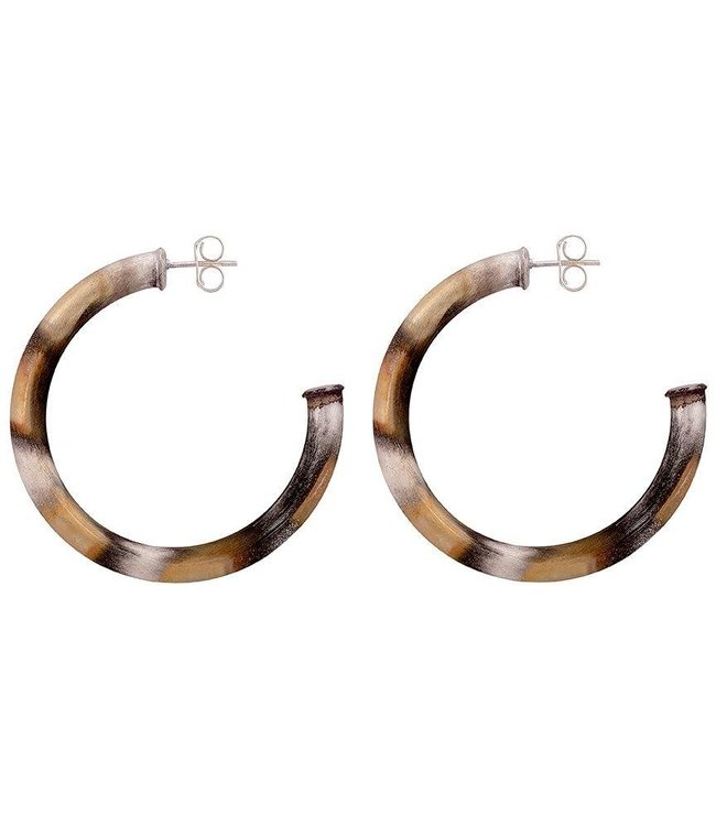 Sheila Fajl Small Arlene Hoop Earrings