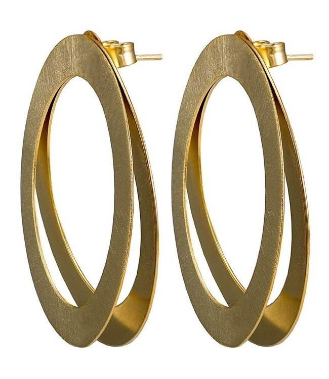 Sheila Fajl Double Shawn Earrings