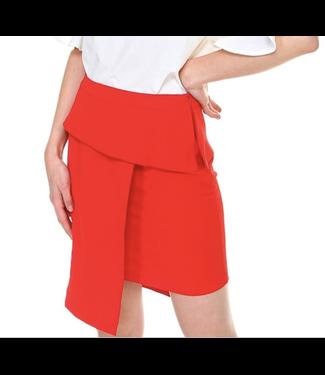 TCEC Asymmetrical Hem Skirt