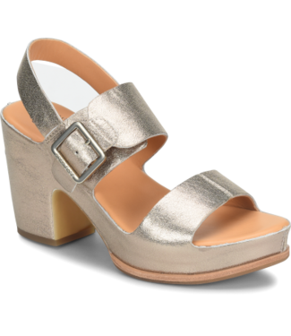 Kork Ease San Carlos Wedge Sandal - Soft Gold