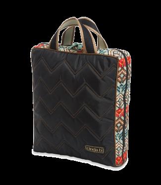 Cinda B Vertical Cosmetic Bag