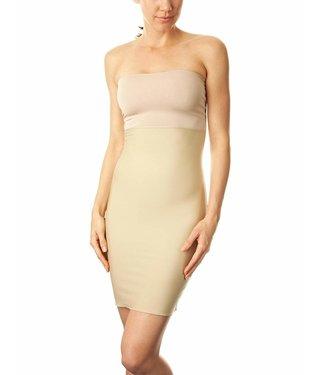 Spanx Hide & Sleek Strapless Full Slip - Nude, XL