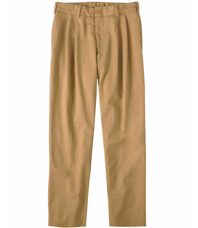 Bills Khakis Classic Fit Pleated Twill Khakis