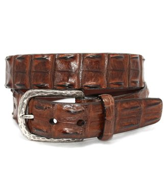 Torino Genuine Hornback Crocodile Belt