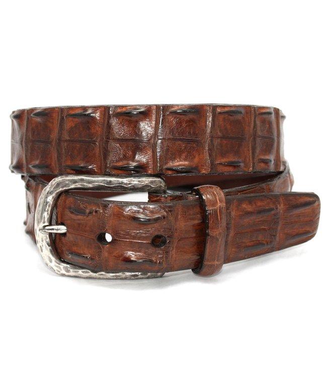 Torino Genuine Hornback Crocodile Belt