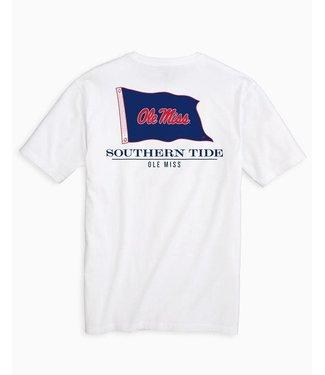 Southern Tide Ole Miss Rebels Flag Gameday T Shirt