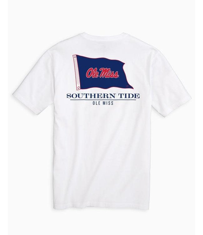 Southern Tide Ole Miss Rebels Flag Gameday T Shirt