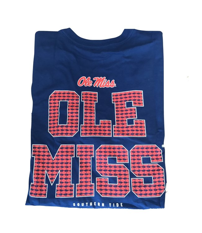 Southern Tide Ole Miss Gameday T Shirt
