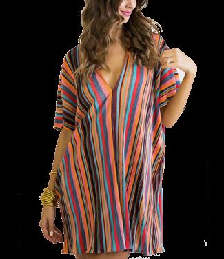 Karlie Multi Stripe Dress