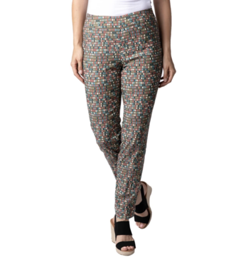 Multiples Print Ankle Pant