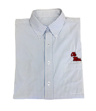 Southern Collegiate Ole Miss Gingham Shirt