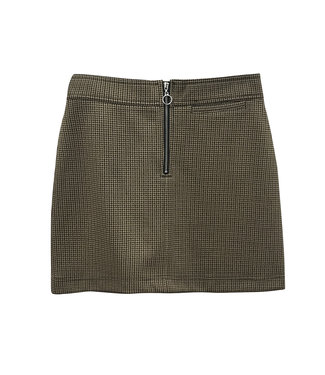 RD Style Tan Brown Skirt