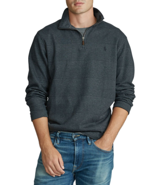Polo Ralph Lauren Double Knit Patterned Half Zip Pullover