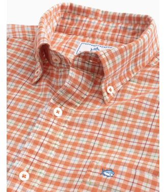 Southern Tide Course Plaid Sportshirt