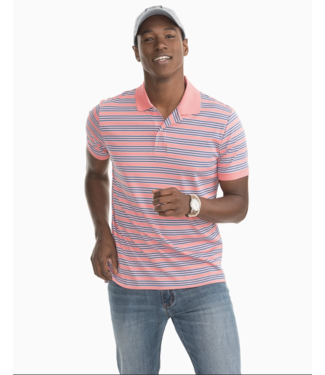 Southern Tide Beach Way Stripe Polo