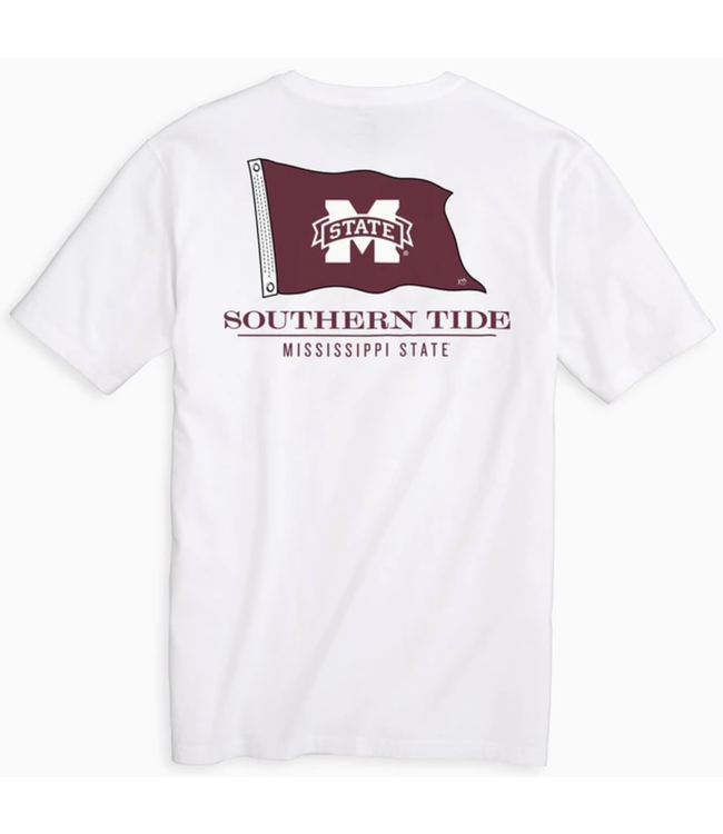 Southern Tide MSU Flag Gameday T Shirt