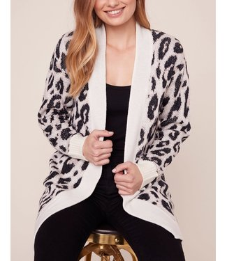 BB Dakota Feline Myself Leopard Cardigan