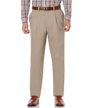 Savane Pleated Ultimate Performance Chino Pants