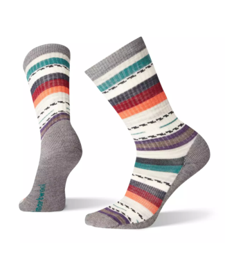 SmartWool Women's Light Margarita Hiking Crew Socks