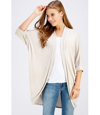 Caramela Draped Knit Cardigan