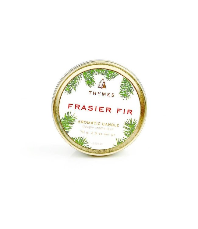 Thymes Travel Tin Candle - Fraiser Fir