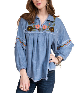 Ivy Jane Embroidered Swing Top