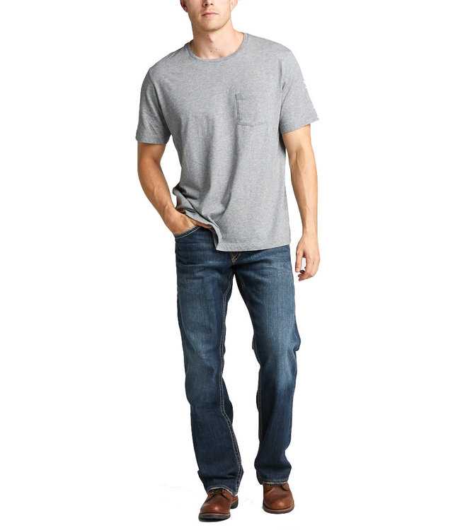 Silver Zac Relaxed Straight Leg Jeans