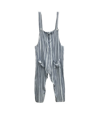 RD Style Stripe Jumpsuit Overalls