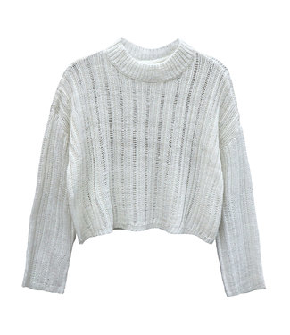 RD Style Woven Knit Sweater