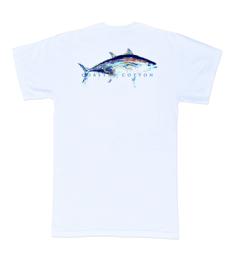 Coastal Cotton Tuna Pima Tee