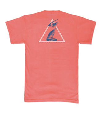 Coastal Cotton Pelican Pima Tee
