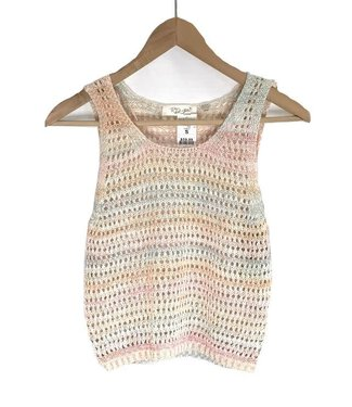RD Style Cropped Cami Sweater