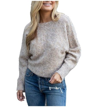 RD Style Heather Natural Sweater