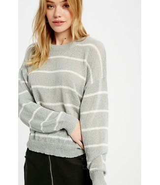 Wishlist Stripe Knit Sweater