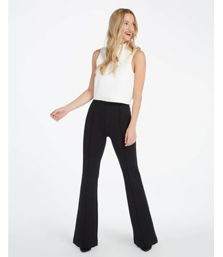 Spanx Perfect Black Pants, Hi-Rise Flare