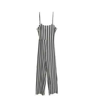 RD Style Striped Knit Jumpsuit