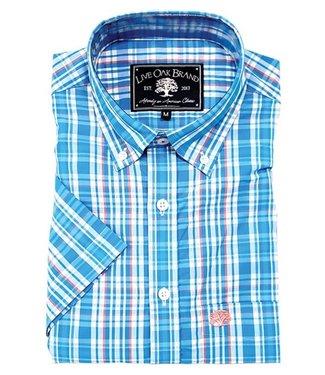 Live Oak Short Sleeve Plaid Shirt