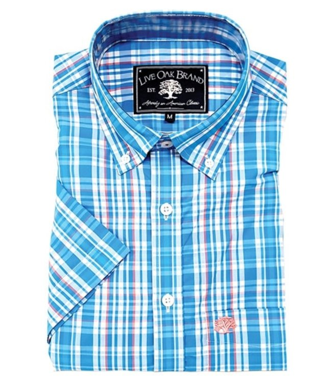 Live Oak Short Sleeve Plaid Shirt